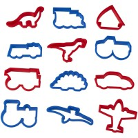 Boy's Cookie Cutter Set By Wilton