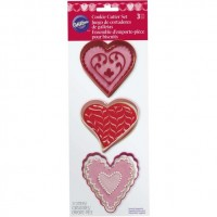 Metal Hearts Cookie Cutter Set by Wilton