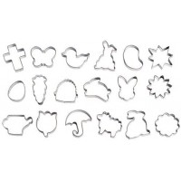Spring and Easter Cookie Cutter Set - 18 pieces by Wilton