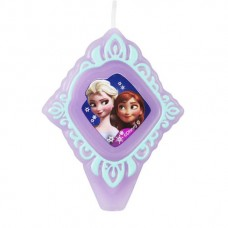 Frozen Elsa and Anna Candle