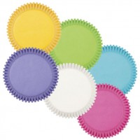 Caissette en papier Couleurs Assorties de Wilton