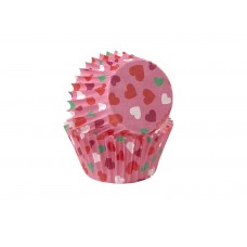 Mini Paper Baking Cups Valentines PS by Wilton
