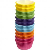 Paper Baking Cups Rainbow Liners by Wilton