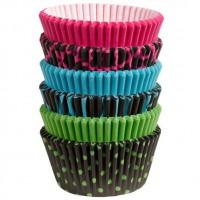 Paper Baking Cups Dark Neon Liners by Wilton