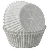 Paper Baking Cups Snowflake by Wilton