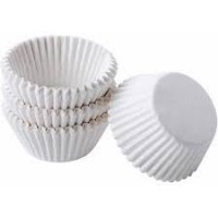 Mini Paper Baking Cups White by Wilton