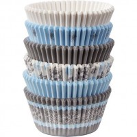 Paper Baking Cups Snowflake Liners by Wilton