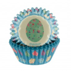 Mini Paper Baking Cups Easter Eggs by Wilton
