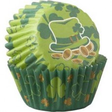 Mini Paper Baking Cups Clovers by Wilton