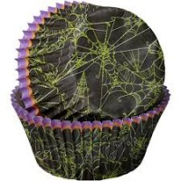 Paper Baking Cups Spider Webs by Wilton