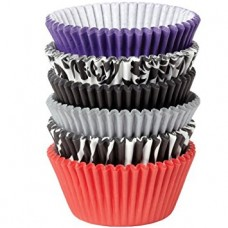 Paper Baking Cups Damask Zebra Liners by Wilton