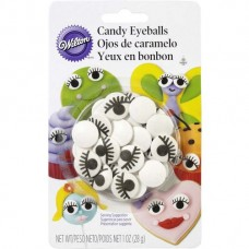 Candy Eyeballs with lashes by Wilton