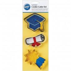 Cookie Cutter Set - Graduation by Wilton