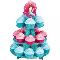 Cupcake Stand - Ariel, The Little Mermaid - Wilton