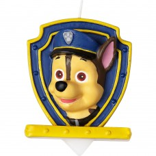 Paw Patrol - Chase Candle by Wilton