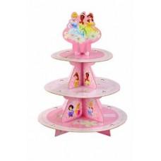 Présentoir à petits Gâteaux - Princesse Disney - Wilton
