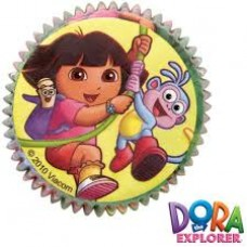 Caissette en papier Dora l'exploratrice de Wilton