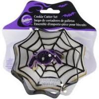 Cookie Cutter Set - Spider in Web by Wilton