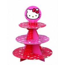 Présentoir à petits Gâteaux - Hello Kitty - Wilton