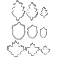 Cookie Cutter Autumn/Leaf Set by Wilton
