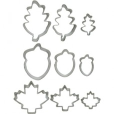 Cookie Cutter Autumn/Leaf Set by Wilton