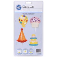 Birthday Party Lollipop Mold by Wilton