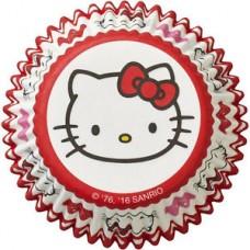 Caissette en papier Hello Kitty avec Coeurs de Wilton