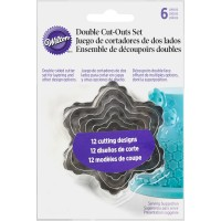 Double Cut-Out Set - Blossom Flower by Wilton