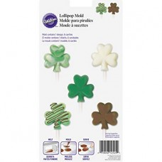 Shamrock Lollipop Mold by Wilton